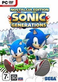Sonic Generations. Nostalgia Edition (DVD-box)