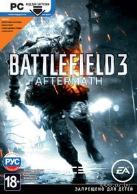 Battlefield 3: Aftermath (только код на загрузку дополнений, без диска)